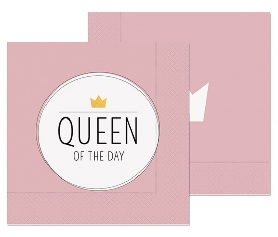 Serviette Queen of...20St33x33