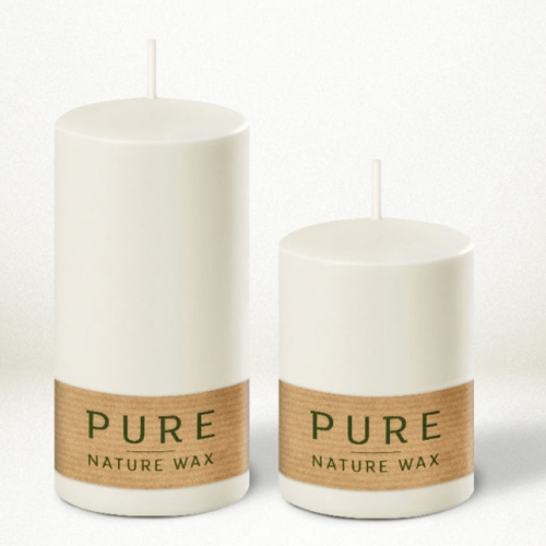 Pure Nature Wax Safe Candle natural